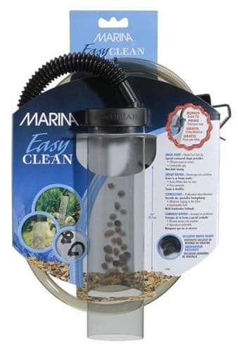 Marina Easy Clean Small Aquarium Gravel Cleaner 25cm 10
